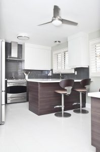 Custom kitchen design renovation in Burlington