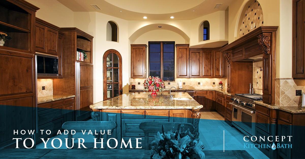 Add value to your Burlington home with kitchen remodeling