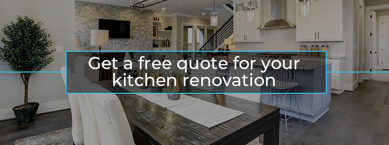 Get a custom quote for your custom kitchen remodeling in Burlington
